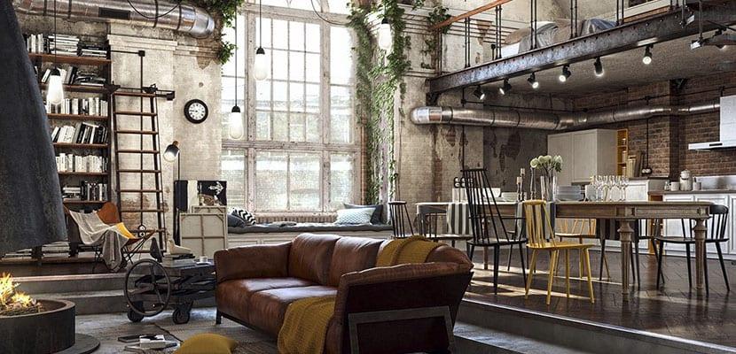 Estilo Loft Interiores