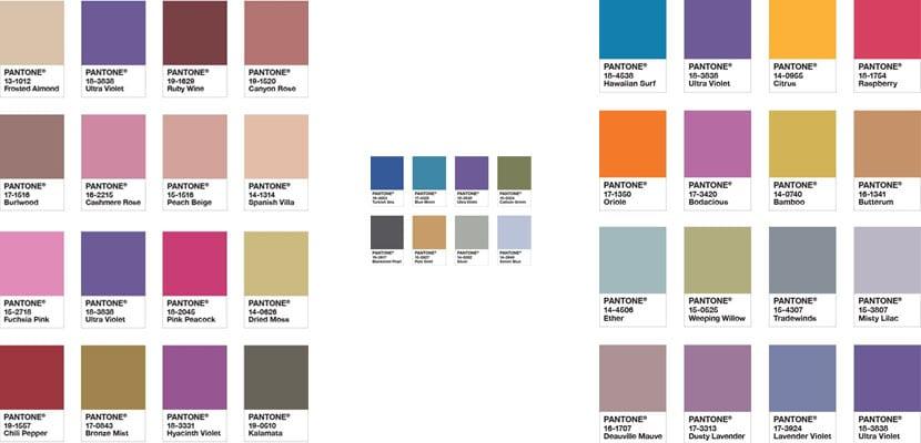 Pantone, colores