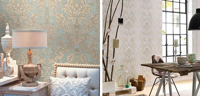 Decorar el hogar con papel pintado vintage for Papel pintado retro barato