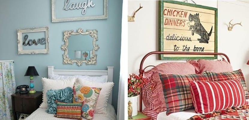 Decorar el hogar con bonitos cuadros vintage - Decorar habitacion vintage ...