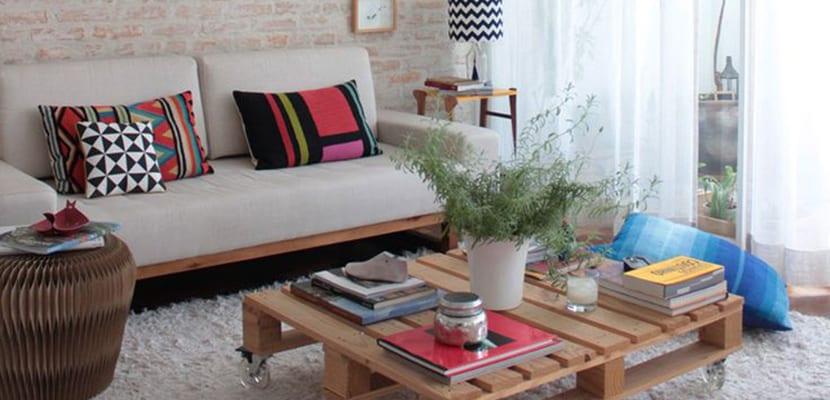 Decorar el hogar con palets e inspiraci n diy - Como organizar los muebles en una casa pequena ...