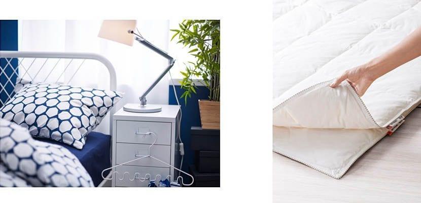 Edredones de Ikea, ¡ideales para tu cama!