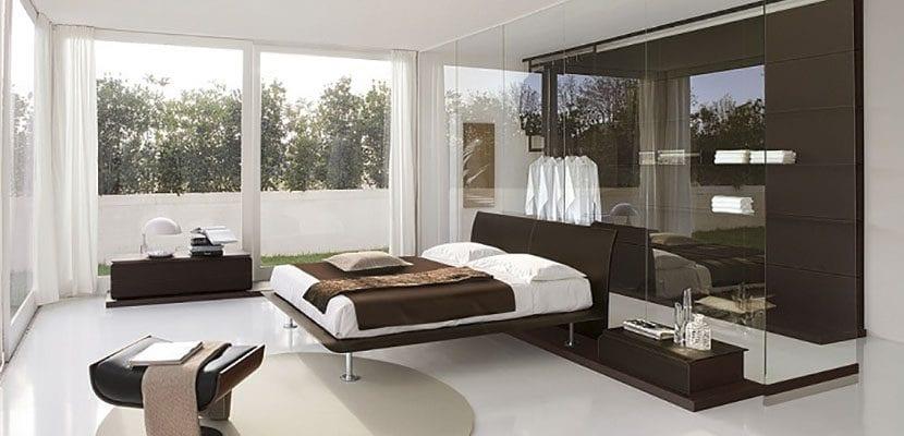 Dormitorio marrón