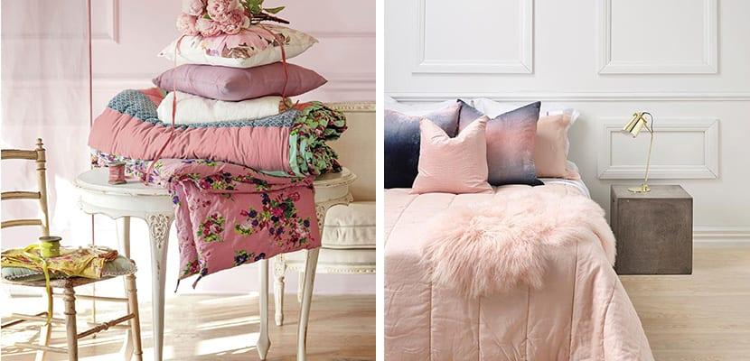 Textiles rosas