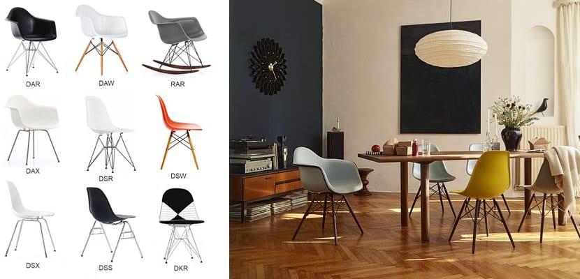 Sillas Eames