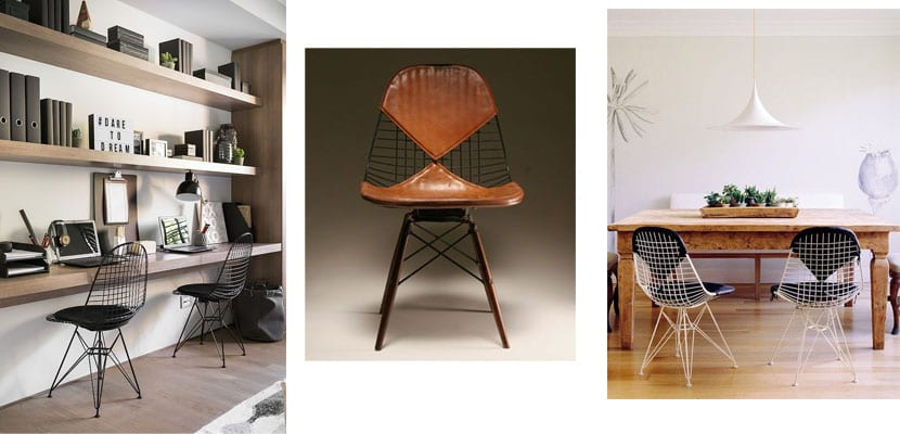 Sillas Eames Wire Chair