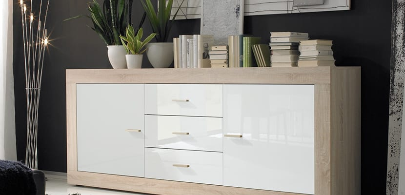 Aparadores un mueble auxiliar para el hogar - Muebles auxiliares comedor ...