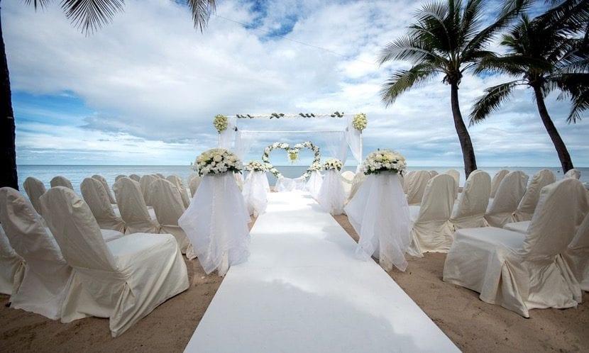 Matrimonio Tema Tropical : Temas para decorar una boda en la playa