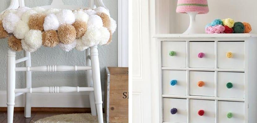 Muebles de pompones