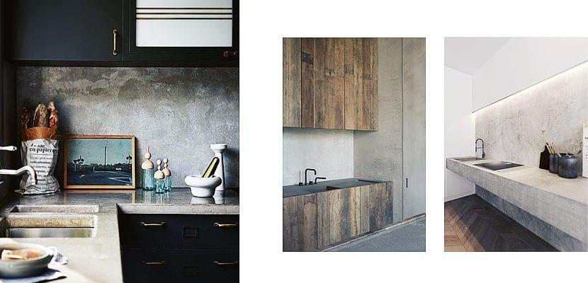 Frentes de cocina est tica y funcionalidad for Marmol veteado sinonimo