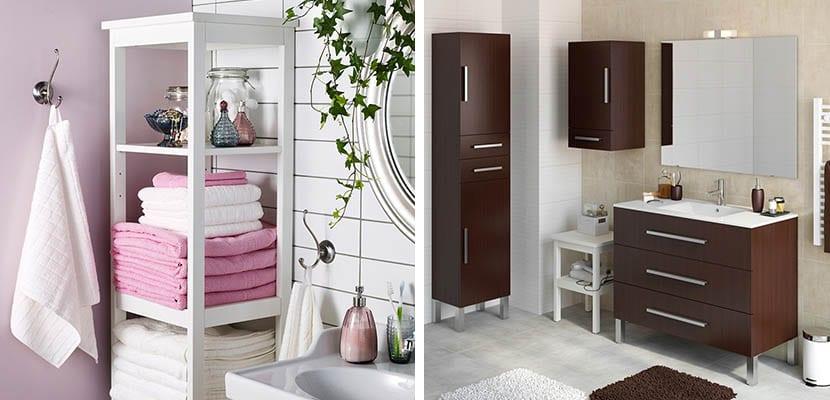 Ideas para decorar con muebles para ba os for Muebles para almacenaje
