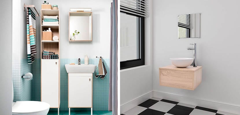 Ideas para decorar con muebles para ba os - El mueble banos pequenos ...