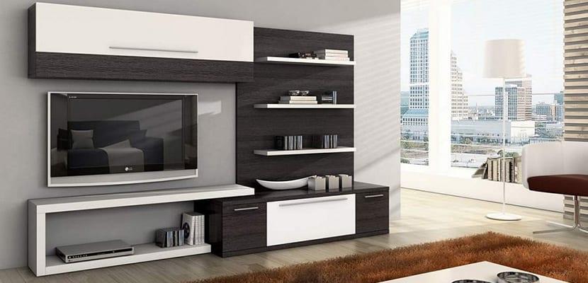 Muebles para tv que decoran el sal n - Muebles para teles ...