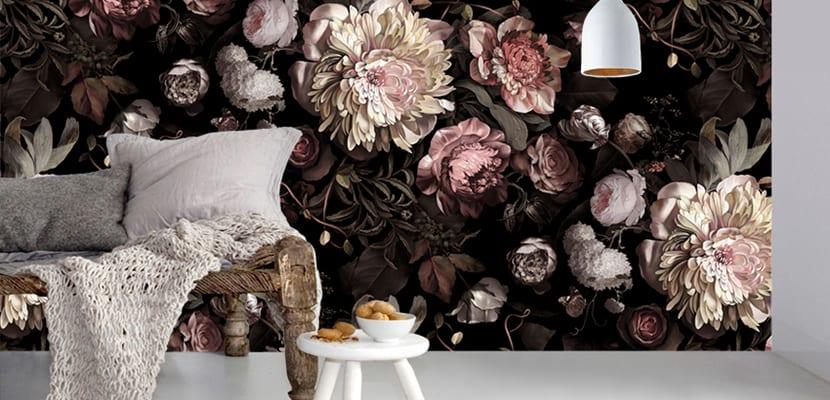 Murales de flores