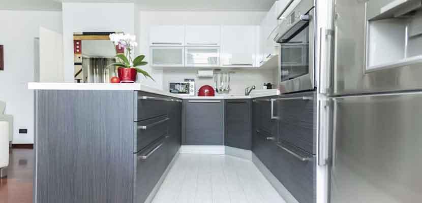 Electrodomésticos grises