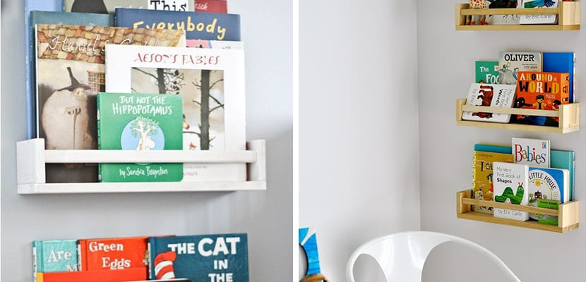 Librearía infantil de Ikea