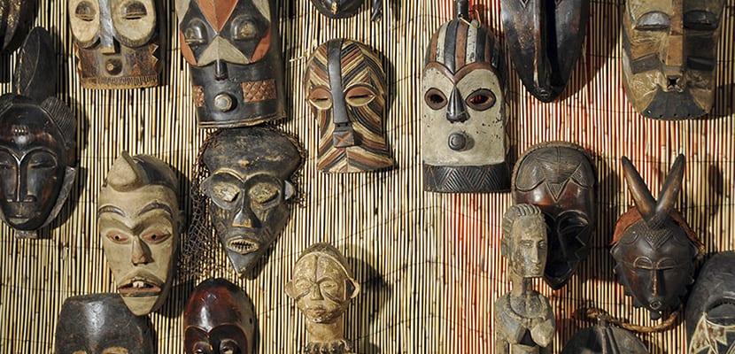 Máscaras africanas originales