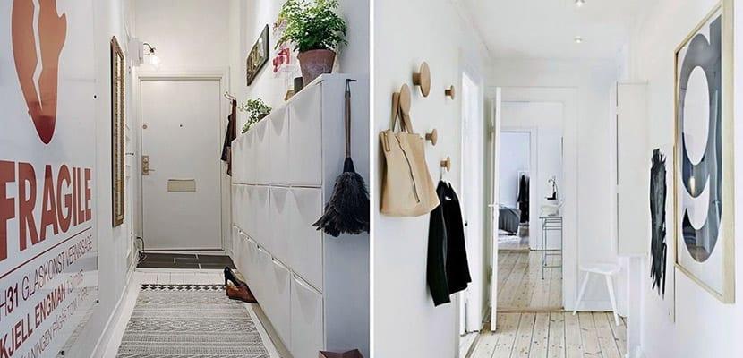 Ideas para decorar pasillos estrechos - Como decorar un pasillo estrecho y oscuro ...