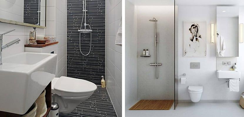 Muebles sencillos para el baño