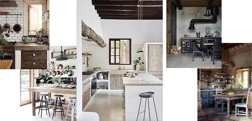 Ideas para decorar casas de campo - Cocinas de campo ...