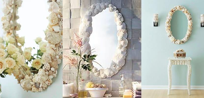Espejos de conchas