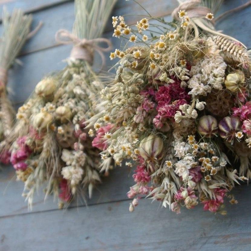 Ideas De Flores Secas Para Tu Decoracion - Decorar-con-flores-secas