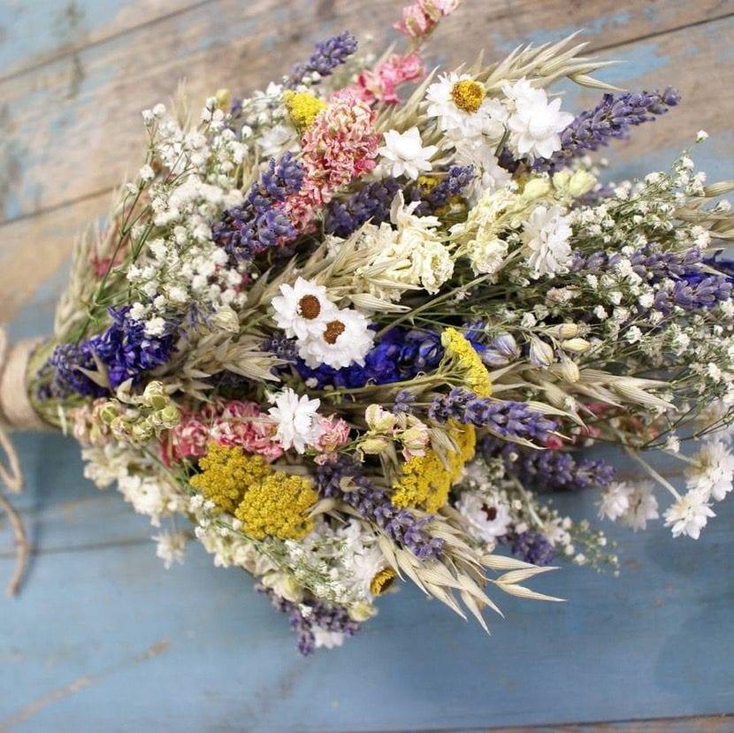 flores secas para adornar