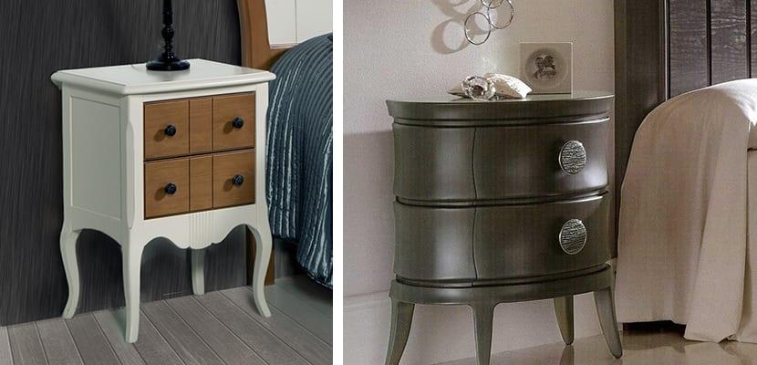 Decorar el dormitorio con mesillas de noche peque as - Mesilla de noche original ...