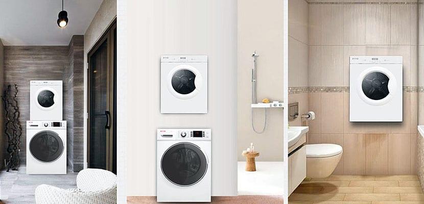 Secadoras pequeñas