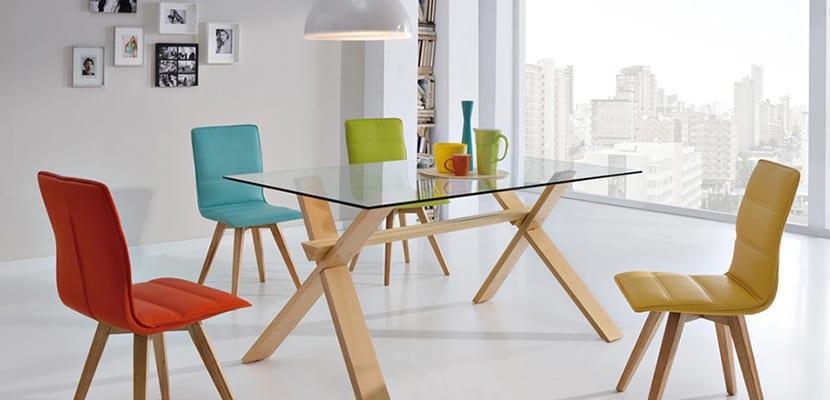 Decorar el hogar con sillas baratas o low cost Sillas para comedor baratas