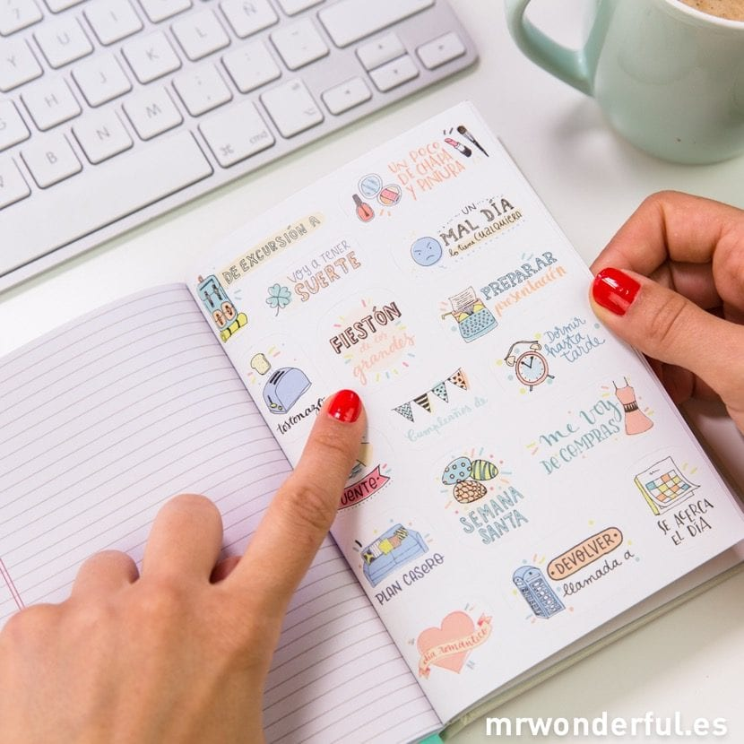 agenda de mr wonderful