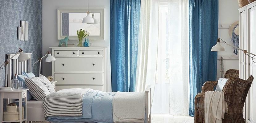 Dormitorio Ikea clásico