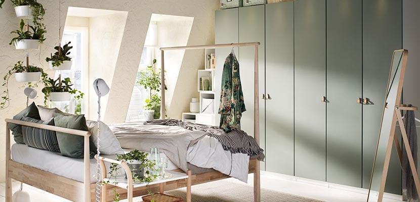Dormitorio Ikea minimalista