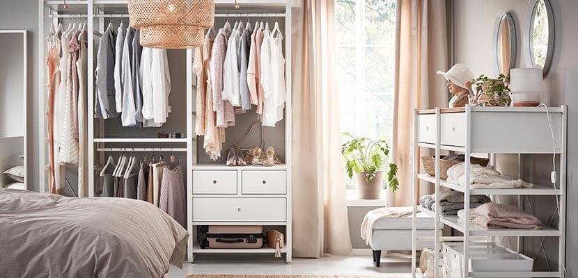 Dormitorio Ikea muebles de almacenaje