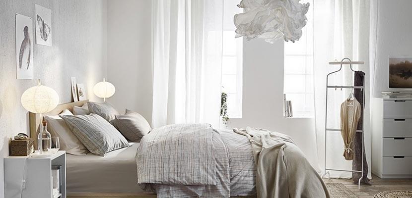 Dormitorio Ikea blanco