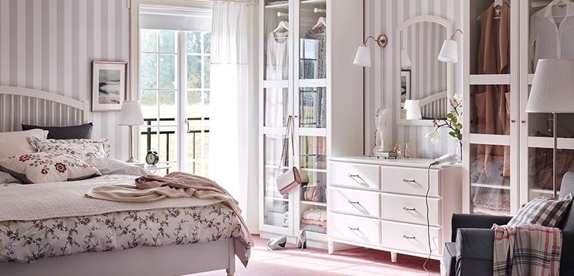 Dormitorio Ikea vintage