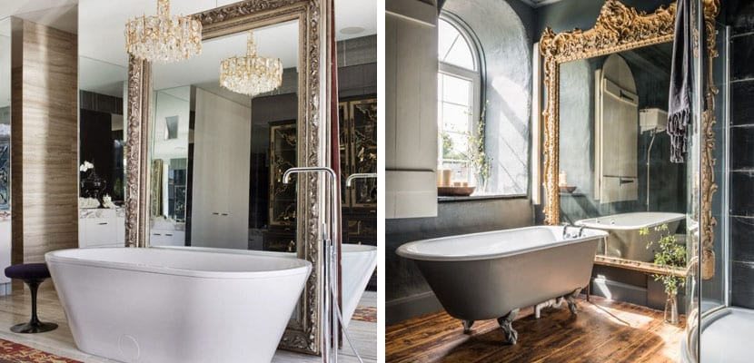 Decorar las habitaciones con espejos grandes es un acierto for Espejos cuarto de bano