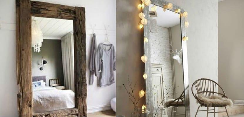 Dormitorios con espejos grandes