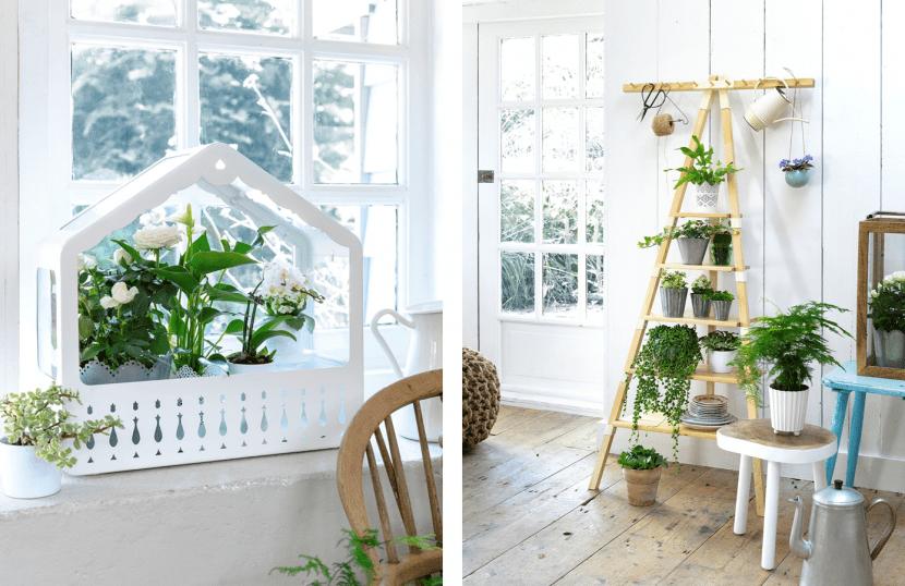 invernadero de ikea decoracion con plantas