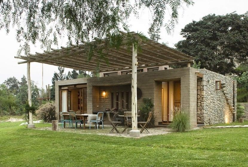 arquitectura estilo casa de campo