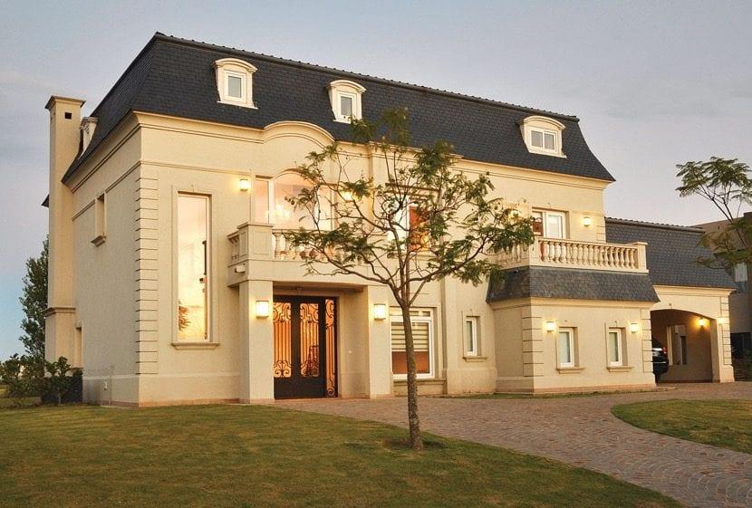 arquitectura estilo provincial francés