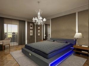 cama de agua moderna