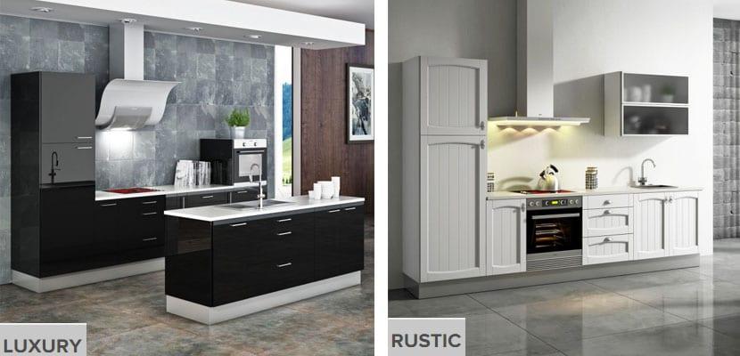 Cocinas modulables Brico Depot