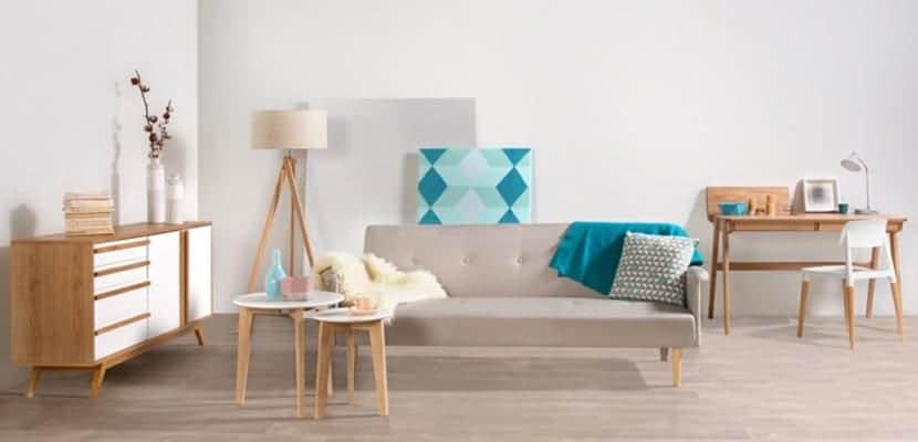 decora tus estancias con los delicados muebles blancos y
