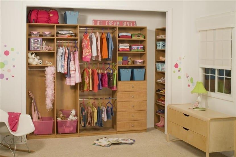 armario infantil de nena