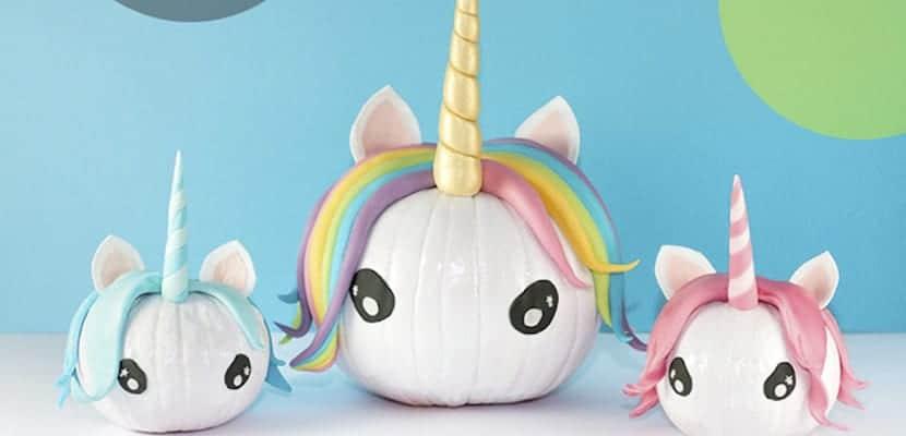 Calabazas de unicornios