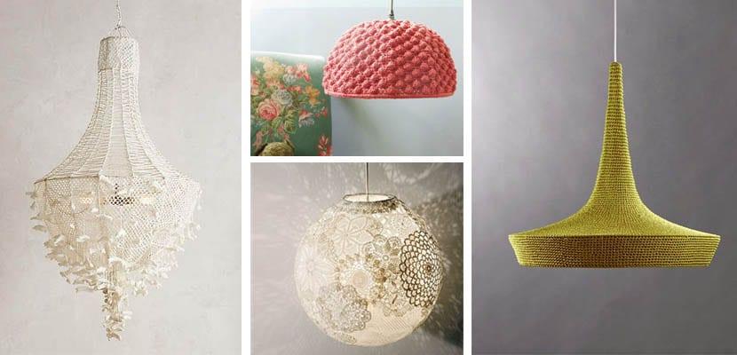 Lámparas de ganchillo