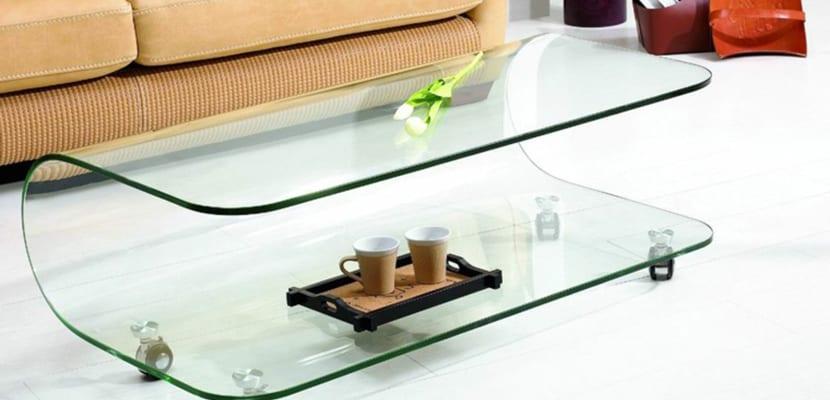 Mesa original de cristal