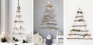 A´rboles de Navidad de madera