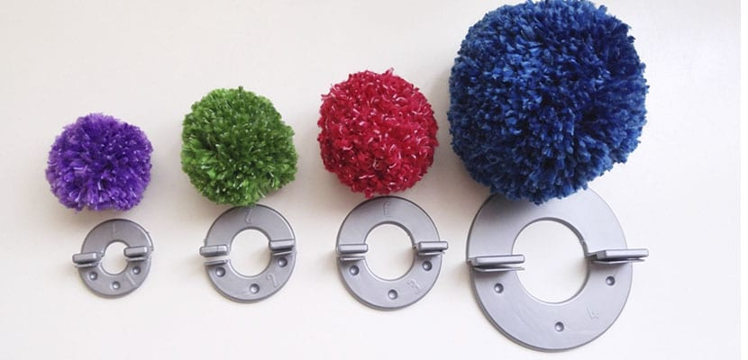 Material para pompones